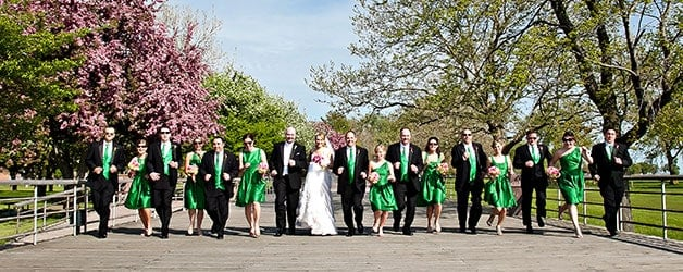 Capture the vibrant colors of the season with spring wedding photography