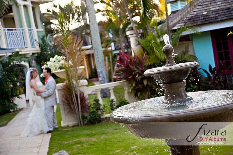 Destination wedding album at Sandals Negril Jamaica