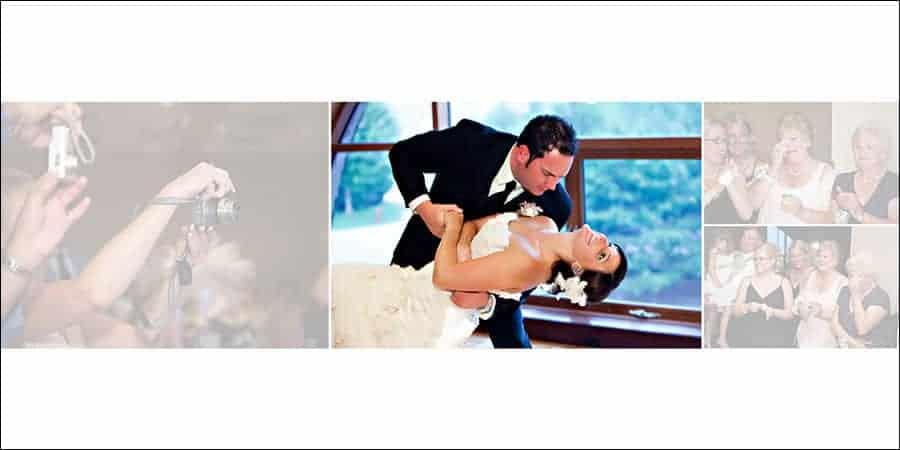 wedding album design ideas - reactions