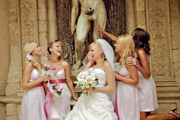 have fun on wedding day