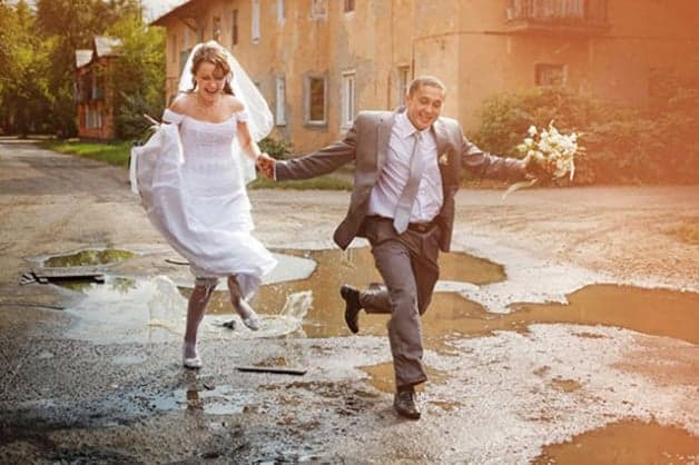 have fun on your wedding day