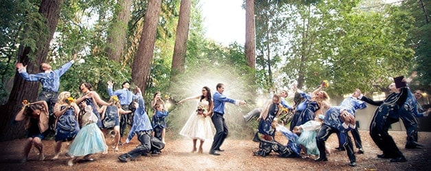 wedding photography with a touch of photoshop