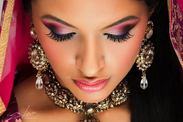 Picture-Perfect Wedding Makeup