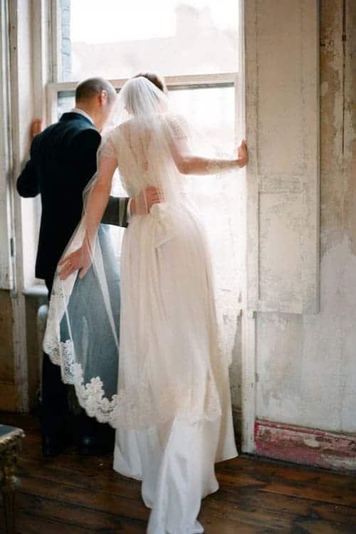 ballet or waltz veil