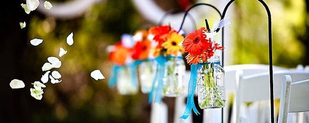 diy wedding mason jar wedding ideas