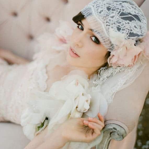 diy wedding veil alternatives juliet cap