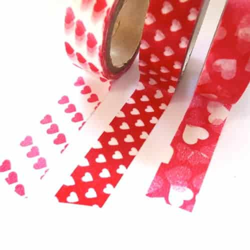 Japanese Washi Tape - Hearts
