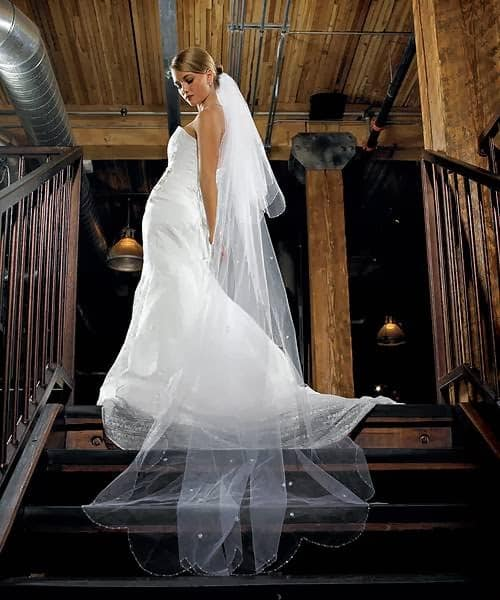 two-tier veil