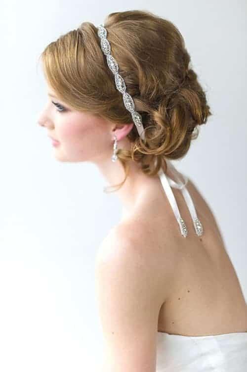 wedding veil alternative bridal headband