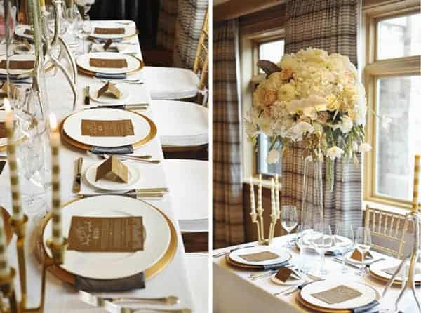winter wedding color palette ideas