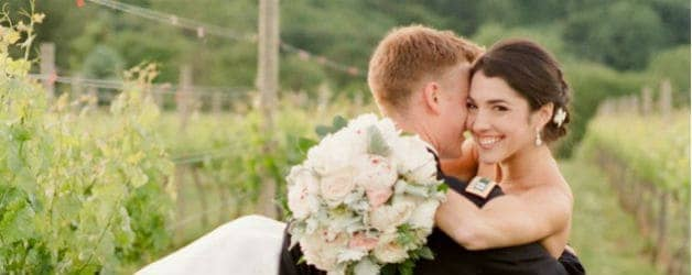 Vineyard Wedding Shoot