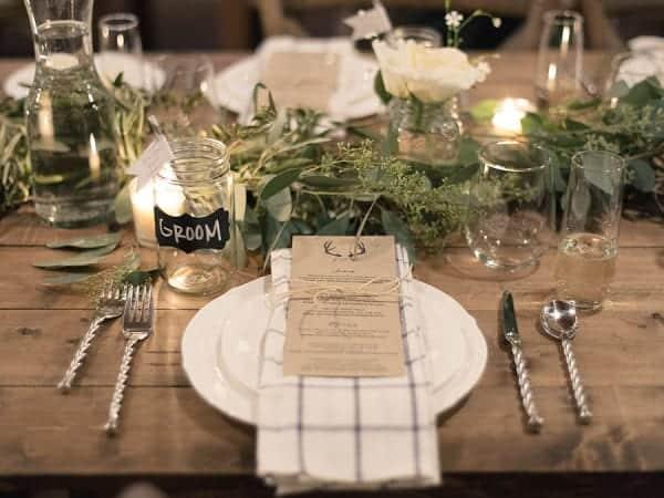 Wedding Receptions Sit Down Dinner
