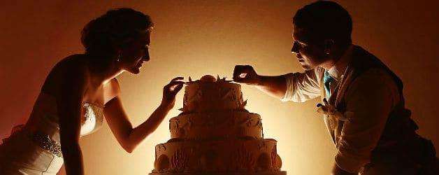 Wedding Cake Del Sol Photography