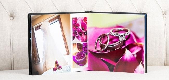 Fizara DIY Flush Mount Wedding Album
