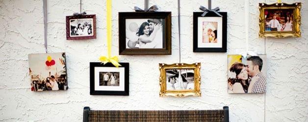 Sharing Wedding Photos