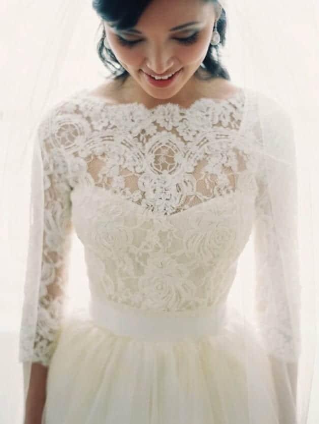 lace-sleeve-wedding-dress-Bridal-Musings-17