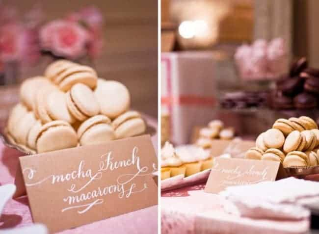 Head-Turning Sweets Tables for Your Reception