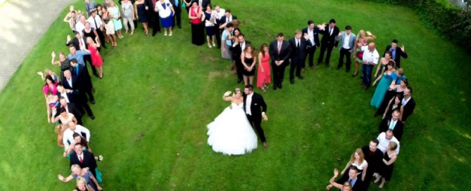 How About Using a Drone or a GoPro For Wedding Videography?