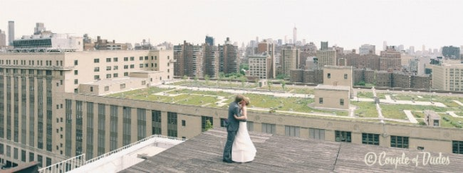 Photographs that Will Make You Fall in Love With Rooftop Weddings