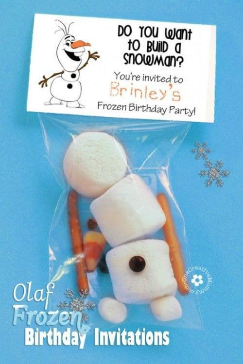 Our Favorite Children's Birthday Invitations