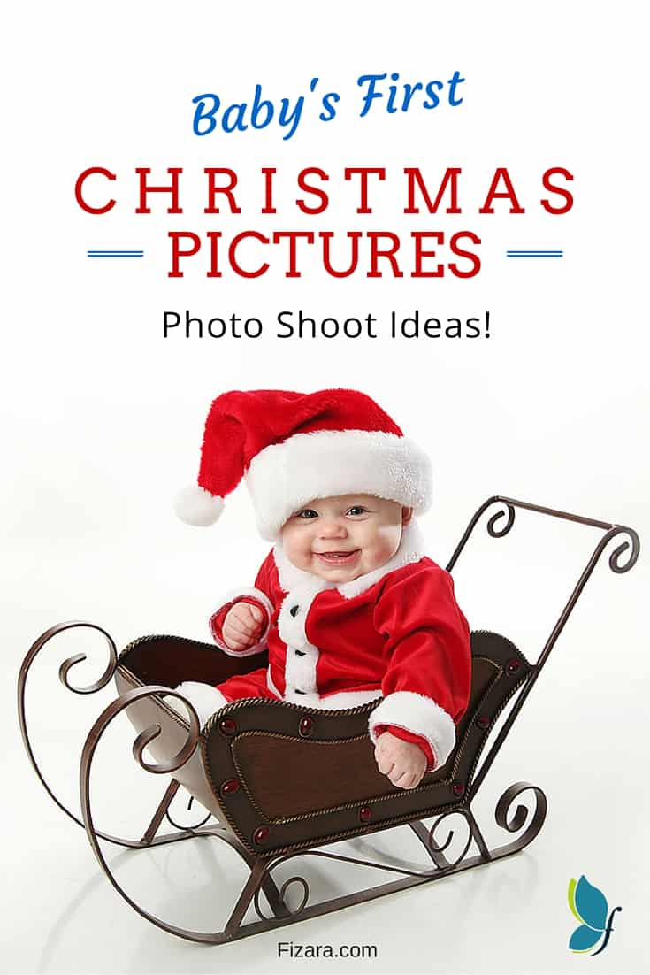 Baby\'s First Christmas Pictures Ideas | Fizara