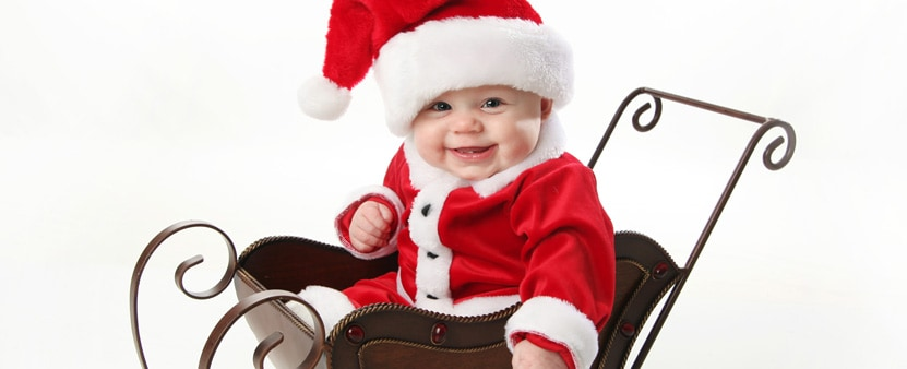 Baby's first Christmas pictures photo shoot ideas