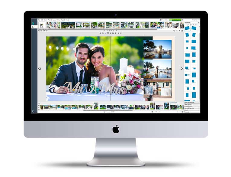 wedding albums - relieves the stress of creating wedding albums