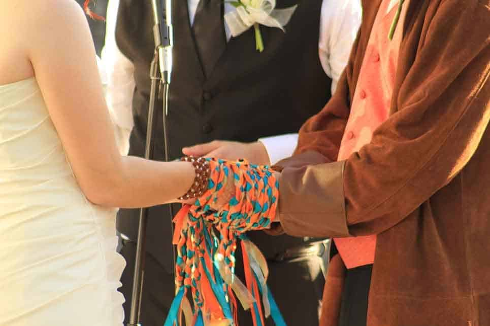 south africa wedding knot hands ruth