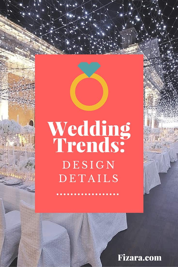 Wedding Trends- design details