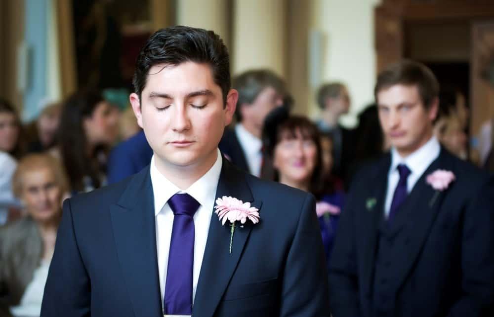 delirious weddings groom closed eyes