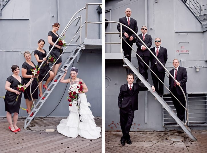 oeil photogrpahy battleship wedding