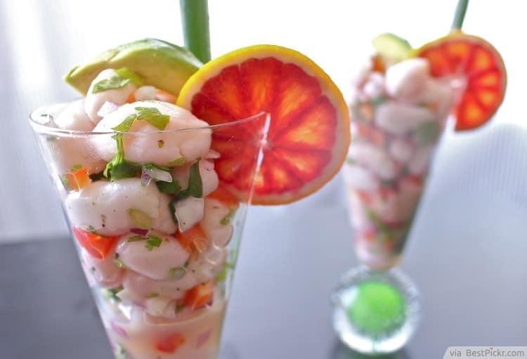 leslie floyd shrimp ceviche