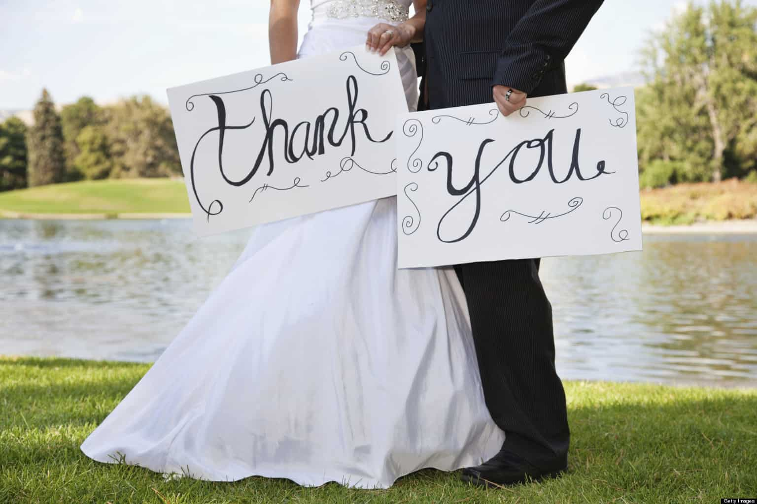 wedding photo books thank you
