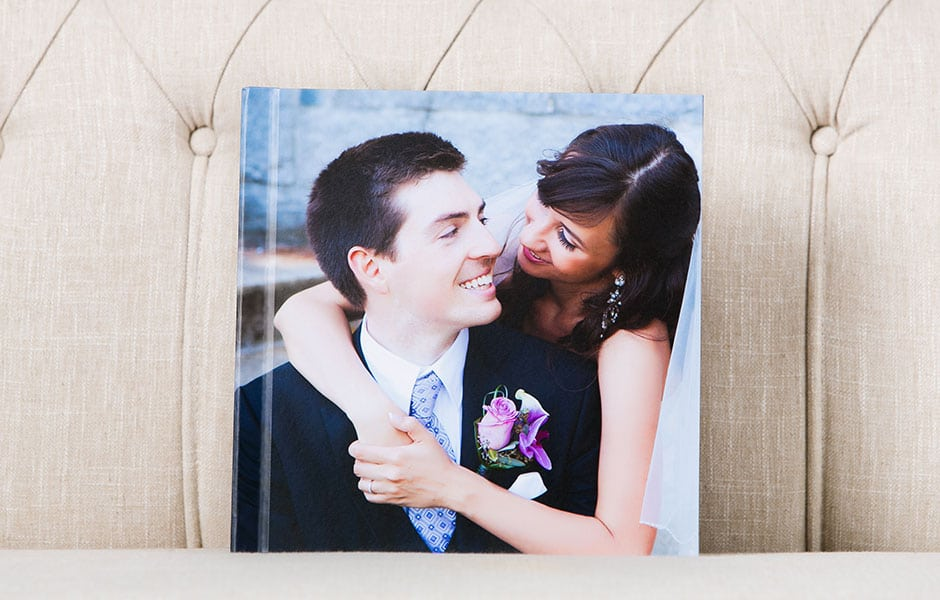 full photo wrap cover photo album wedding album