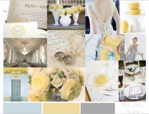 2017 Wedding Trends: Wedding Color Combination Ideas
